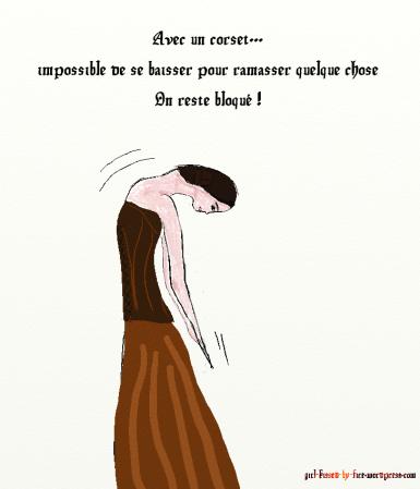 se baisser corset