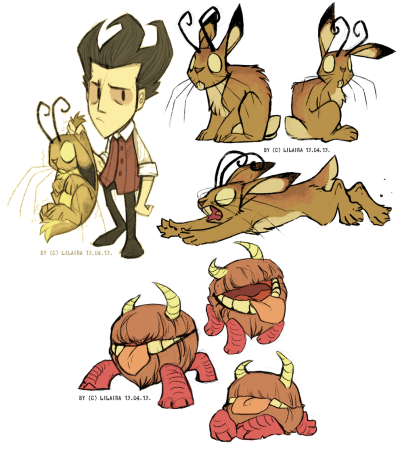 horned_bunnies___don_t_starve_by_lilaira-d61lr9b