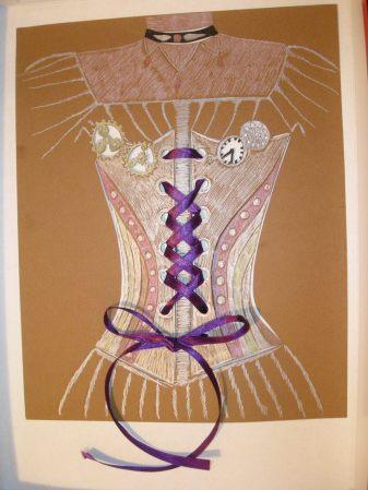 corset steampunk
