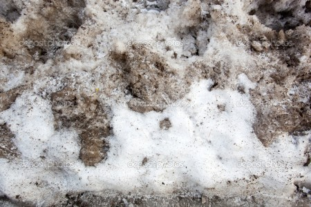 A background texture of dirty snow