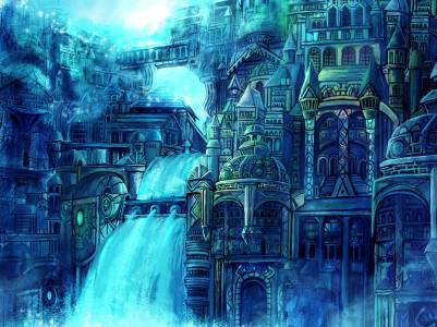 Water_fantasy_city_by_Gold_copper