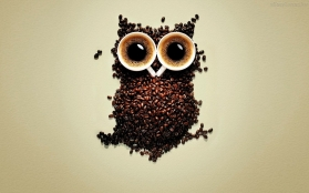 Coffee-Owl-Creative-Graphics-HD-Wallpapers