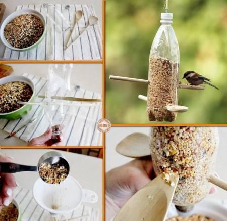 bouteilles-platiques-mangoires-oiseaux
